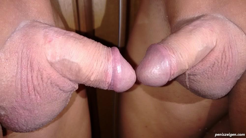 Aneinander reiben penis sich aneinander